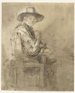Studie voor een der Staalmeesters, Jacob van Loon (ca. 1595-1674)
