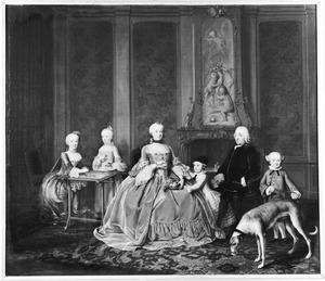 De familie van Joan Ortt (1721-1783) en Adriana Huydecoper (1726-1762)