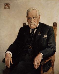 Portret van Frederik Alexander Robert Arnold van Ittersum (1865-1939)