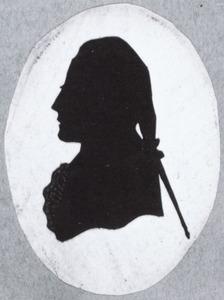 Portret van een man, mogelijk Henricus Verploegh (1727-1785)