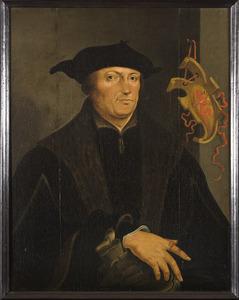 Portret van Augustijn van Teylingen (1475-1533)