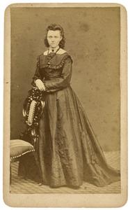 Portret van Jannetje Tjepkema (1850-1875)