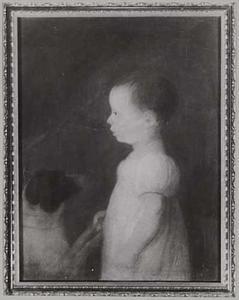 Portret van een vrouw, waarschijnlijk Henriette Justina Agneta van Oldenbarneveld, genaamd Witte Tullingh (1803-1870)