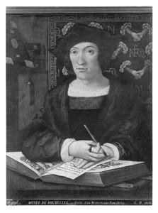 Portret van Georges de Zelle