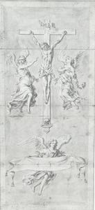 Crucifix met engelen