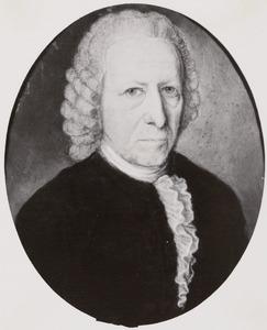Portret van Johan Francois Drijfhout (1708-1792)