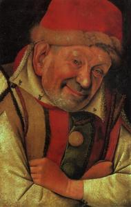 Portret van Gonella, de hofnar van Ferrara