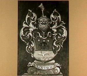 Wapenbord van Otto Koetsch (1688-1757)