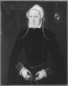 Portret van Catharina Govertsdr. van Slingelandt (1538-?)