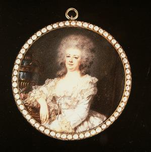 Portret van Magdalena Antonia van de Poll (1748-1808)