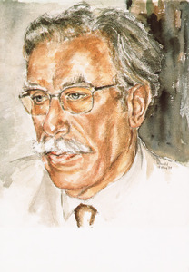 Portret van Guillaume van der Graft (1920-2010)