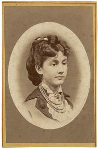 Portret van Maria Leopoldina van Hogendorp (1846-1922)