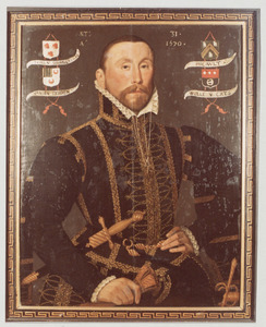 Portret van Jacob van Serooskerke (1539- )