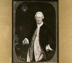 Portret van Petrus Albertus van der Parra (1714-1775)
