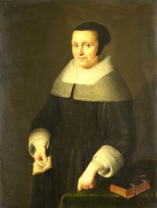 Portret van een vrouw, mogelijk Elselina van Houweningen (....-1681)