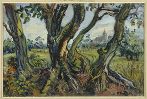 Landschap met bomen (Eemnes)