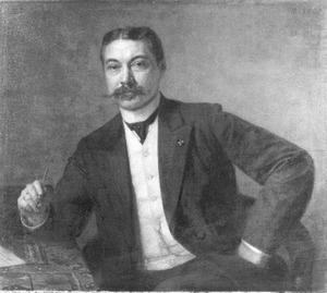 Portret van Wilhelmus Frederik van Leeuwen (1860-1930)