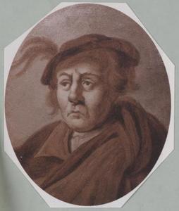 Portret van Hugo van der Goes (?-1482)
