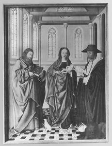 Maria met kind en de HH. Johannes de Doper en Hieronymus