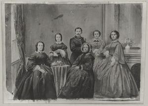 Portret van familie Visch Eybergen-van Son