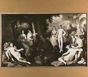 De Verloren Zoon bij de courtisanes (Lucas 15:13)