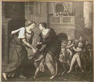 Het verlenen van de keuren aan de Neringhe