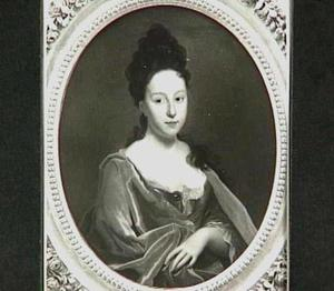 Portret van Martha Cornelia Kemp (1694-1729)