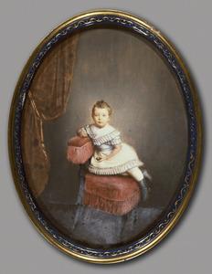 Portret van Adriana Maria Cornelia Johanna Nagtglas (1866- )