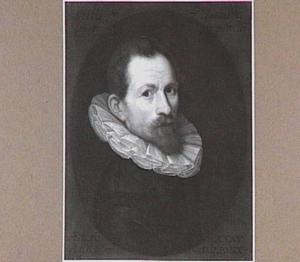 Zelfportret van Gillis Pietersz. Hannuijts (1554-1609)