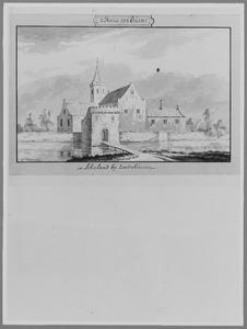 Voorzijde van het Huis Ter Duin (ook wel Verduyn) bij Zevenhuizen