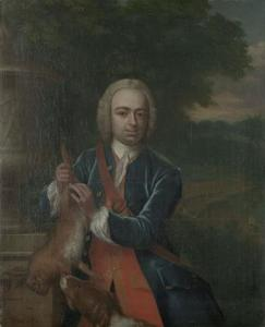 Portret van Adriaan Caspar Parduyn (1718-1747)