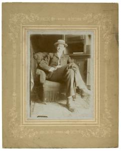 Portret van Dhr. Vlielander Hein