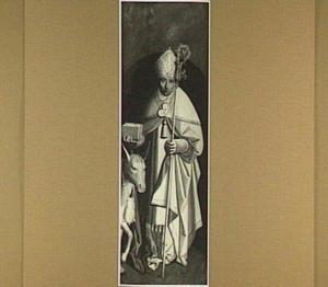 De H. Antonius van Padua (op de binnenzijde: de kruisafneming)