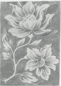 Ornament-ontwerp voor een bloem
