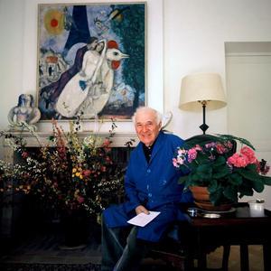 Portret van Marc Chagall