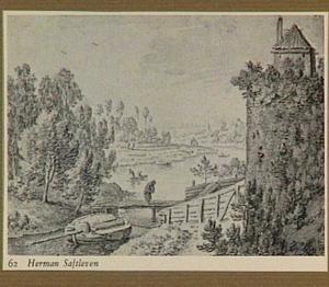 Gezicht op het St. Lucasbolwerk te Utrecht