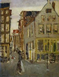 Buurtje in de Amsterdamse Jordaan