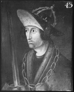 Portret van Adolph van Nassau (ca. 1248-1298), Rooms Keizer 5 mei 1292