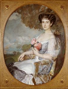 Portret van Mathilde Francken (1877-1948)