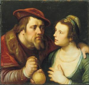 Veile liefde: jonge vrouw met oudere man