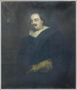Portret van Peter Stevens, echtgenoot van Anna Wake