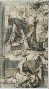De engel verschijnt Jozef in zijn droom (Mattheus 1:18-25)