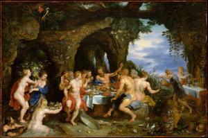 Het feestmaal van Achelaos
