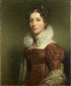 Portret van Jacoba Vetter (1796-1830)