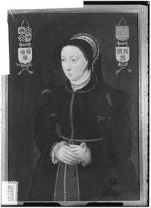 Portret van Catharina van de Werve