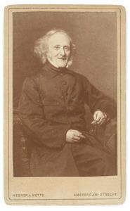 Portret van Apollonius Johannes Reynvaan (1806-1889)