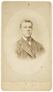 Portret van Roelof Mientjes Tjepkema (1853-1935)