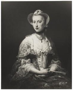 Portretminiatuur van Maria Theodora Bisdom