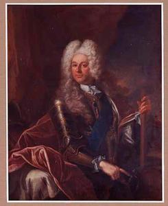 Portret van prins Wilhelm VIII, Landgraf von Hessen-Kassel (1682-1760), gouverneur van Maastricht