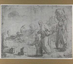 De doop van de kamerling  door Philippus (Handelingen 8:26-40)